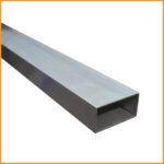 Le tube aluminium rectangulaire